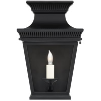 Visual Comfort CHD2945BLK-CG E. F. Chapman Elsinore 1 Light 12 inch Black Outdoor Wall Lantern, Small