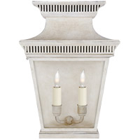 E. F. Chapman Elsinore 2 Light 16 inch Old White Outdoor Wall Lantern, Medium