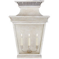 Visual Comfort CHD2955OW-CG E. F. Chapman Elsinore 3 Light 24 inch Old White Outdoor Wall Lantern Large