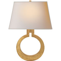 Visual Comfort E. F. Chapman Ring 1 Light 14 inch Gilded Finish Decorative Wall Light CHD2970G-NP - Open Box