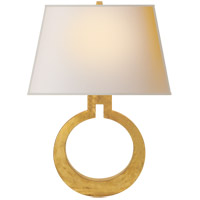 Visual Comfort CHD2970G-NP E. F. Chapman Ring 1 Light 14 inch Gilded Finish Decorative Wall Light