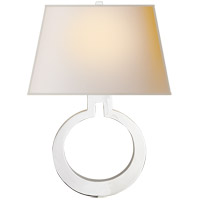 Visual Comfort CHD2970PN-NP E. F. Chapman Ring 1 Light 14 inch Polished Nickel Decorative Wall Light