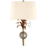 E.F. Chapman Gramercy 1 Light 13 inch Gilded Iron Decorative Wall Light