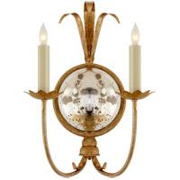 Visual Comfort CHD4175GI E. F. Chapman Gramercy 2 Light 13 inch Gilded Iron Decorative Wall Light