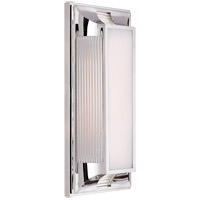 Visual Comfort CHD4211PN-WG E. F. Chapman Hector 2 Light 8 inch Polished Nickel Bath Vanity Wall Light