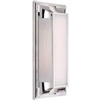 Visual Comfort CHD4211PN-WG E. F. Chapman Hector 2 Light 8 inch Polished Nickel Bath Vanity Wall Light