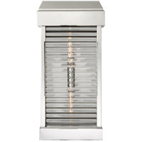 Visual Comfort CHO2019PN-CG E. F. Chapman Dunmore 2 Light 23 inch Polished Nickel Outdoor Wall Sconce