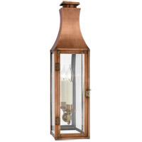 Visual Comfort CHO2028NC-CG Chapman & Myers Charlestown 1 Light 24 inch Natural Copper Outdoor Wall Lantern Small