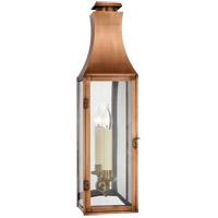 Visual Comfort CHO2029NC-CG Chapman & Myers Charlestown 1 Light 29 inch Natural Copper Outdoor Wall Lantern, Medium