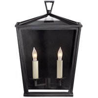 E. F. Chapman Darlana 2 Light 14 inch Bronze Outdoor Wall Lantern