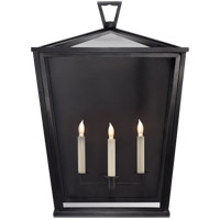 E.F. Chapman Darlanao 3 Light 25 inch Bronze Outdoor Wall Lantern