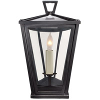 Visual Comfort CHO2045BZ-CG E. F. Chapman Darlana 1 Light 10 inch Bronze Outdoor Wall Lantern