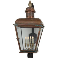 Visual Comfort E.F. Chapman Hampshire 4 Light Outdoor Wall Lantern in Natural Copper CHO2054NC