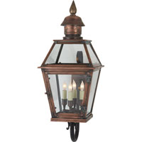 Visual Comfort E.F. Chapman Pimlico 4 Light Outdoor Wall Lantern in Natural Copper CHO2081NC
