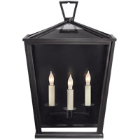 E.F. Chapman Darlanao 3 Light 19 inch Bronze Outdoor Wall Lantern