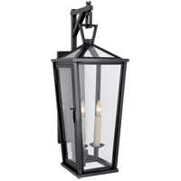 Visual Comfort CHO2086BZ E. F. Chapman Darlana 2 Light 21 inch Bronze Outdoor Wall Lantern