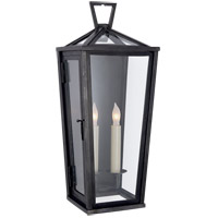 Visual Comfort CHO2087BZ E. F. Chapman Darlana 2 Light 19 inch Bronze Outdoor Wall Lantern