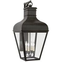 Visual Comfort CHO2161FR-CG Chapman & Myers Fremont 4 Light 27 inch French Rust Outdoor Bracketed Wall Lantern Medium