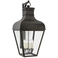 Visual Comfort CHO2163FR-CG Chapman & Myers Fremont 6 Light 46 inch French Rust Outdoor Bracketed Wall Lantern Grande