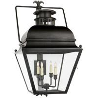 Visual Comfort CHO2215AI-CG E. F. Chapman Holborn 4 Light 34 inch Aged Iron Outdoor Wall Lantern, Large