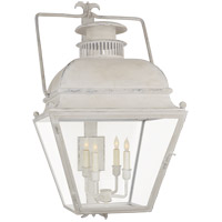 E. F. Chapman Holborn 4 Light 34 inch Old White Outdoor Wall Lantern, Large
