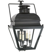 E. F. Chapman Holborn 4 Light 26 inch Aged Iron Outdoor Wall Lantern, Small