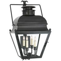 Visual Comfort CHO2216AI-CG E. F. Chapman Holborn 4 Light 26 inch Aged Iron Outdoor Wall Lantern, Small
