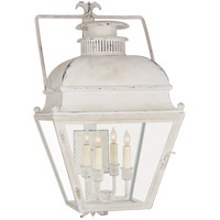 E. F. Chapman Holborn 4 Light 26 inch Old White Outdoor Wall Lantern, Small