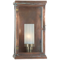 Visual Comfort E.F. Chapman Somerset 1 Light Outdoor Wall Lantern in Natural Copper CHO2224NC