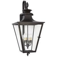 Visual Comfort CHO2422BC-CG E. F. Chapman Albermarle 4 Light 31 inch Blackened Copper Outdoor Bracketed Wall Lantern Medium