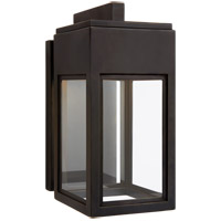 Visual Comfort CHO2440BZ-CG Chapman & Myers Irvine LED 11 inch Bronze Outdoor Bracketed Wall Lantern Small