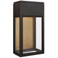 Visual Comfort CHO2444BZ-CG Chapman & Myers Irvine LED 13 inch Bronze Outdoor Wall Lantern Small