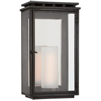 Visual Comfort CHO2605AI-CG Chapman & Myers Cheshire 1 Light 18 inch Aged Iron Outdoor Wall Lantern, Medium