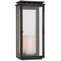 Visual Comfort CHO2606AI-CG Chapman & Myers Cheshire 1 Light 24 inch Aged Iron Outdoor Wall Lantern, Large photo thumbnail