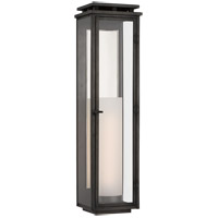 Visual Comfort CHO2607AI-CG Chapman & Myers Cheshire 1 Light 28 inch Aged Iron Outdoor Wall Lantern, Tall