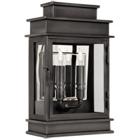 Visual Comfort E.F. Chapman 2 Light Outdoor Wall Lantern in Bronze with Wax CHO2908BZ