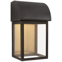 Visual Comfort CHO2921BZ-CG E. F. Chapman Edgemont 1 Light 12 inch Bronze Outdoor Wall Lantern