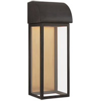 Visual Comfort CHO2923BZ-CG E. F. Chapman Edgemont 1 Light 18 inch Bronze Outdoor Wall Lantern