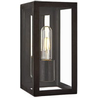 Visual Comfort CHO2930AI-CG Chapman & Myers Fresno 1 Light 10 inch Aged Iron Outdoor Wall Lantern, Small
