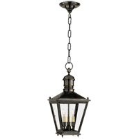 Visual Comfort E.F. Chapman Sussex 3 Light Outdoor Hanging Lantern in Bronze with Wax CHO5031BZ
