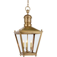 Visual Comfort Chart House Large Sussex Hanging in Antique-Burnished Brass CHO5033AB