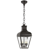 Visual Comfort CHO5160FR-CG Chapman & Myers Fremont 4 Light 10 inch French Rust Outdoor Hanging Lantern Small