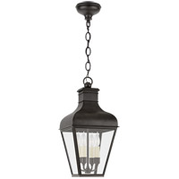 Visual Comfort CHO5161FR-CG Chapman & Myers Fremont 4 Light 13 inch French Rust Outdoor Hanging Lantern Medium