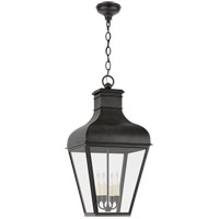 Visual Comfort CHO5162FR-CG Chapman & Myers Fremont 4 Light 17 inch French Rust Outdoor Hanging Lantern Large