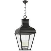 Visual Comfort CHO5163FR-CG Chapman & Myers Fremont 6 Light 22 inch French Rust Outdoor Hanging Lantern Grande