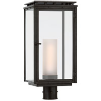 Visual Comfort CHO7605AI-CG Chapman & Myers Cheshire 1 Light 21 inch Aged Iron Outdoor Post Light