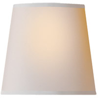 Visual Comfort CHS104NP E. F. Chapman Clip On Natural 4 inch Shade in Natural Paper