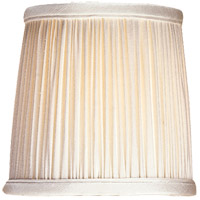 Visual Comfort CHS104S E. F. Chapman Clip On Silk Shade 4 inch Shade