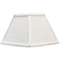 E. F. Chapman Clip On Linen 6 inch Shade in Square