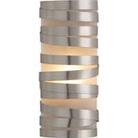 Visual Comfort Studio Primitive 1 Light Decorative Wall Light in Brushed Steel CL2016BS-FG
